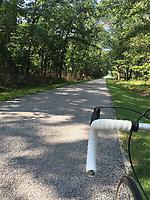 NWA Democrat-Gazette/FLIP PUTTHOFF <br />The tour road at Pea Ridge National Military Park makes for       Sept. 2 2018 pleasant bike riding through the Civil War battlefield.