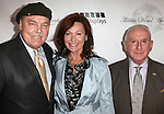 Stacy Keach & wife Malgosia Tomassi with Lionel Larner.arriving for the 68th Annual Theatre World Awards at the Belasco Theatre  in New York City on June 5, 2012.