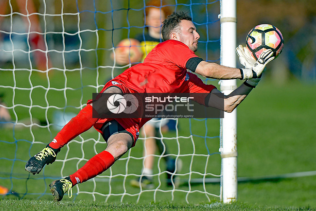 NELSON, NEW ZEALAND August 26: Chatham Cup Semi Final, Suburbs v Birkenhead Saxton Field, Nelson, New Zealand, August 26, 2018 (Photos by: Barry Whitnall/Shuttersport Ltd