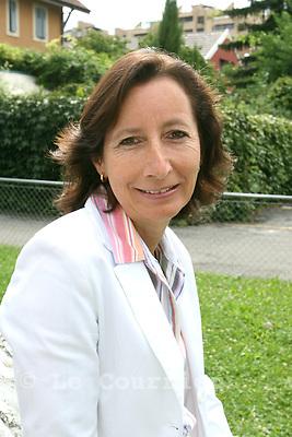 Genèvel, le 08.08.2007.Mme Fabienne Bugnon, directrice du bureau de l'égalité et membre du partis des verts.© J.-P. Di Silvestro..