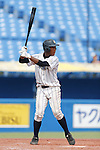 Chusei Mannami, AUGUST 4, 2015 - Baseball : All Japan Little-Senior Baseball Championship third place match between Higashi Nerima senior 4-7 Shinjuku senior at Jingu stadium in Tokyo, Japan. (Photo by Yusuke Nakanishi/AFLO SPORT)