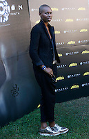 "La cantante inglese Skin, voce degli Skunk Anansie, posa durante un photocall per la presentazione del film ""Andron - The Black Labyrinth"" a Roma, 13 settembre 2014.<br /> British singer Skin, of the band Skunk Anansie, poses during a photocall for the presentation of the movie ""Andron - The Black Labyrinth"" in Rome, 13 September 2014.<br /> UPDATE IMAGES PRESS/Riccardo De Luca"
