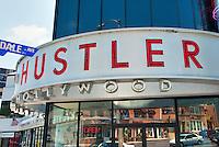Hustler Hollywood, Sunset Boulevard, West Los Angeles, CA