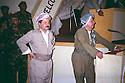 Iraq 1993.11th congress of KDP party in Hawler: Masoud Barzani listening to a speech given by. Ali Abdalla.Irak 1993.11eme congres du PDK a Hawler: Masoud Barzani ecoutant un discours prononce a par Ali Abdalla