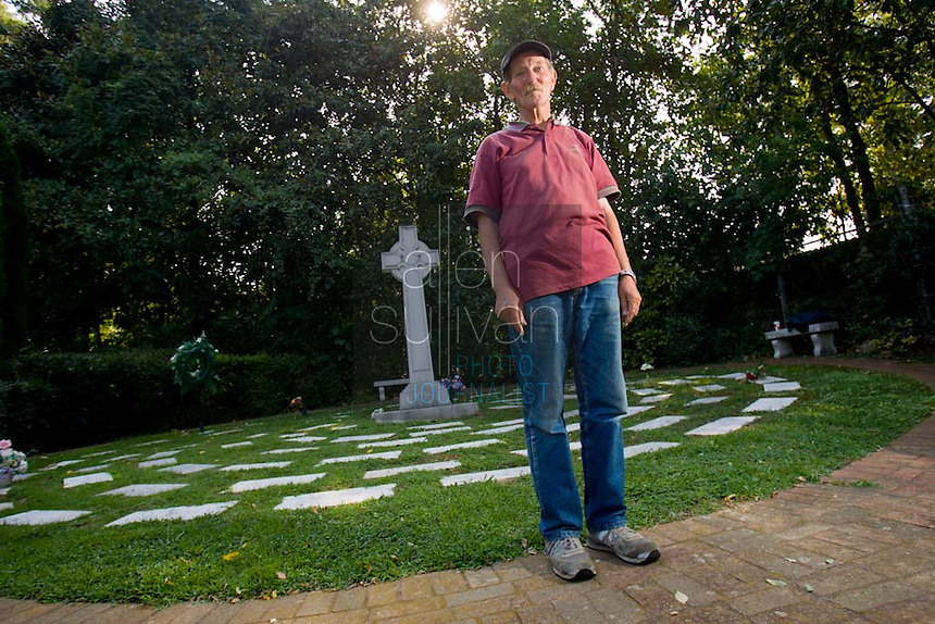 "Bob Estep of West Virginia, 64, said he takes a bus two or three times a year to Marietta to stay by the grave of JonBenet Ramsey for anywhere from two weeks to two months. Estep said he slept by the grave in 1998, but was run off by local police in 1999. ""I like it here, it's nice and peaceful,""  he said, adding that he did not know anyone in the Ramsey family before he began making his pilgrimages."