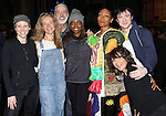 Stephanie Pope with Charlotte d' Amboise, Rachel Bay Jones, Terrence Mann, Patina Miller, Matthew James Thomas & Andrea Martin  attending the Broadway Opening Night Gypsy Robe Ceremony honoring Stephanie Pope for 'Pippin' at the Music Box Theatre in New York City on 4/25/2013