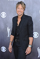 LAS VEGAS, NV - APRIL 6:  Keith Urban at the 49th Annual Academy of Country Music Awards at the MGM Grand Garden Arena on April 6, 2014 in Las Vegas, Nevada.MPIPG/Starlitepics