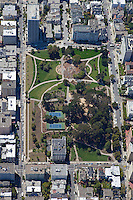 aerial photograph Lafayette Park, Pacific Heights, San Francisco