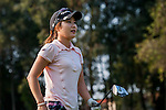 So-Young Jang of Korea looks on during the Hyundai China Ladies Open 2014 on December 09 2014 at Mission Hills Shenzhen, in Shenzhen, China. Photo by Xaume Olleros / Power Sport Images