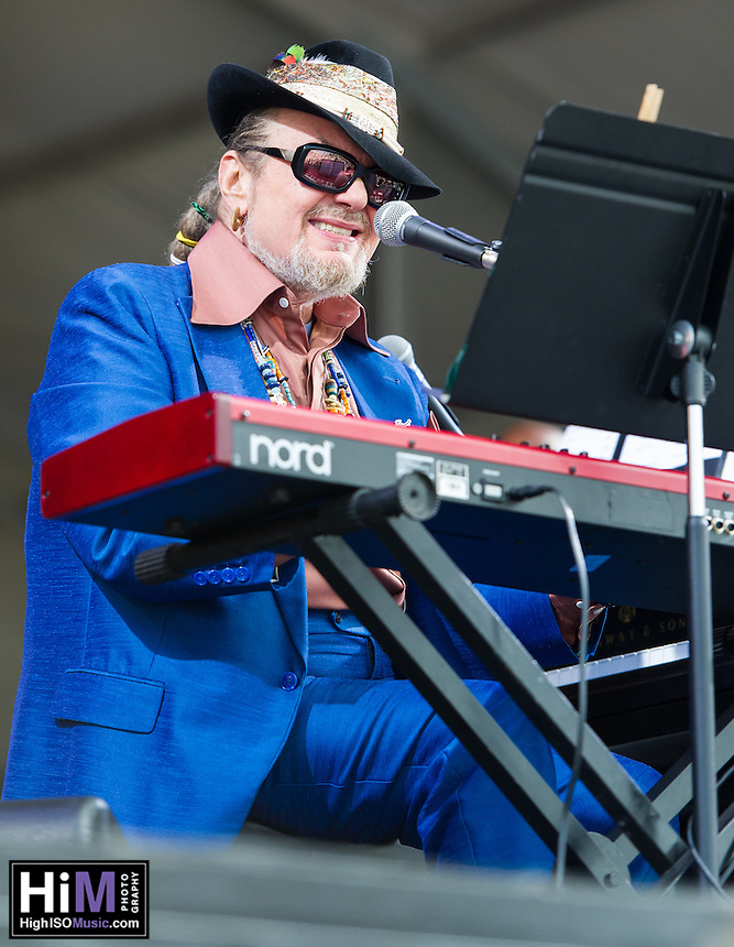 Dr. John and the Nite Trippers perform at the 2013 New Orleans Jazz and Heritage Festival on April 26, 2013 in New Orleans, LA.  © HIGH ISO Music, LLC / Retna, Ltd.