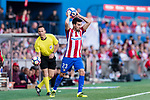 Nicolas Gaitan of Atletico de Madrid in action during the La Liga match between Atletico de Madrid vs Osasuna at Estadio Vicente Calderon on 15 April 2017 in Madrid, Spain. Photo by Diego Gonzalez Souto / Power Sport Images