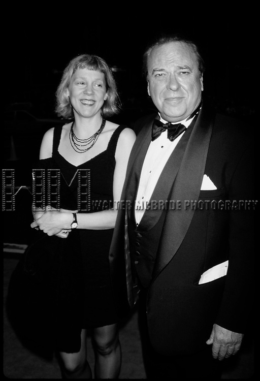 Rip Torn and Amy Wright attending the 1997 Tony awards at Radio City Music Hall, New York City.<br />June 1, 1997.