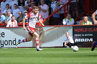 Ben Kennedy of Stevenage during Stevenage vs Tranmere Rovers, Sky Bet EFL League 2 Football at the Lamex Stadium on 4th August 2018