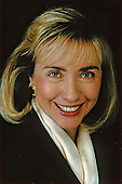 """Official"" Portrait of First Lady Hillary Rodham Clinton taken in Washington, DC on January 20, 1993.<br /> Mandatory Credit: Bob McNeeley / White House via CNP"