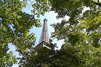 Paris - France -Eifel Tower - Through trees
