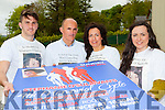 The family on the late Stephanie O'Sullivan who hace organised the 4th annual Memorial cycle in aid of suicide prevention and Milltown youth services