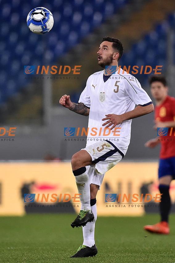 Danilo Cataldi Italia <br /> Roma 27-02-2017, Stadio Olimpico<br /> Football Friendly Match  <br /> Italy - Spain Under 21 Foto Andrea Staccioli Insidefoto