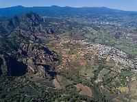 The village of San Jose de los Laureles, Tlayacapan, Morelos, Mexico.