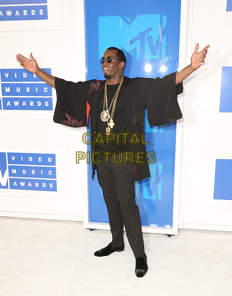 NEW YORK - AUGUST 28:Sean Diddy Combs arrives at the 2016 MTV Video Music Awards at Madison Square Garden on August 28, 2016 in New York City.<br /> CAP/MPI99<br /> &copy;MPI99/Capital Pictures