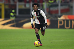 Juan Cuadrado of Juventus during the Coppa Italia match at Giuseppe Meazza, Milan. Picture date: 13th February 2020. Picture credit should read: Jonathan Moscrop/Sportimage