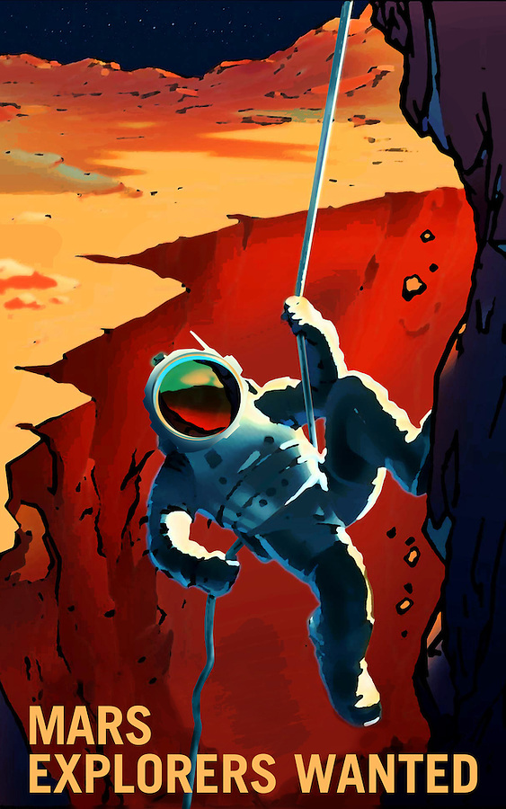 Mars - Explorers Wanted