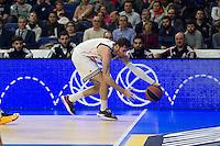 Real Madrid´s Rudy Fernandezduring 2014-15 Euroleague Basketball match between Real Madrid and Galatasaray at Palacio de los Deportes stadium in Madrid, Spain. January 08, 2015. (ALTERPHOTOS/Luis Fernandez) /NortePhoto /NortePhoto.com