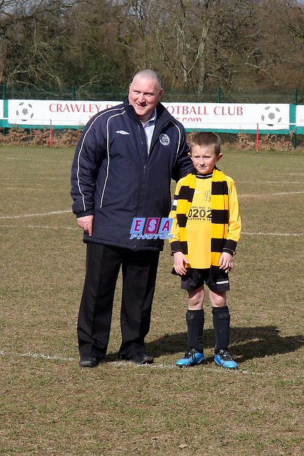 PATCHAM UNITED v CUCKFIELD COSMOS<br /> Mid Sussex Youth and Minor Football League U9 Cup Final Sunday 14th March 2010 VENUE Crawley Down FC