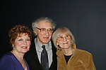 Another World's Anita Gillette - Sheldon Harnick (Lyracist & special guest) and wife at Jamie deRoy & Friends Cabaret as they sang songs from Tony Award winning musicals on May 1, 2010 at Primary Stages 59E59 Theaters celebrate their 25th anniversary - New York City, New York. (Photo by Sue Coflin/Max Photos