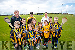 Pictured on Thursday, July 20th to launch the Abbeydorney Family Fun Day, which takes place on Sunday, July 30th, l-r: Cian Lynch, Mikey Leahy, Luke Fitzmaurice, Shea Bowler, Lily Bowler, Aidan Leahy, Kitty Bowler, Ben Donovan, Michelle Carroll, Aaron Donovan, Tadgh Hegarty and Jody Charles.