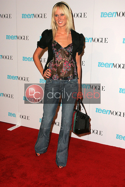 Kimberly Stewart<br /> At the release party for the Teen Vogue Young Hollywood Issue, The Hollywood Roosevelt Hotel, Hollywood, CA 09-20-05<br /> David Edwards/DailyCeleb.Com 818-249-4998