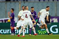 Gol Kostas Manolas Roma goal celebration 2-3<br /> Firenze 05-11-2017 Stadio Artemio Franchi Calcio Serie A 2017/2018 Fiorentina - AS Roma Foto Filippo Rubin / Insidefoto