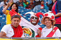 Photo before the match Brasil vs Peru, Corresponding to  Group -B- of the America Cup Centenary 2016 at Gillette Stadium.<br /> <br /> Foto previo al partido Brasil vs Peru, Correspondiente al Grupo -B- de la Copa America Centenario 2016 en el Estadio Gillette en la foto: Fans Peru<br /> <br /> <br /> 12/06/2016/MEXSPORT/ISAAC ORTIZ