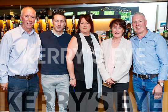 Pictured at Blennerviille National School Fashion Show, at Ballyroe Heights Hotel, Tralee, on Thursday, May 31st last, were l-r: Sean Daly, Anlaun Dunne, Maura O'Donnell, Noreen Sugrue and Michael Cotter.
