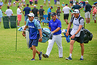 Patrick Reed (USA) approaches the 5th tee during Friday's round 2 of the PGA Championship at the Quail Hollow Club in Charlotte, North Carolina. 8/11/2017.<br /> Picture: Golffile | Ken Murray<br /> <br /> <br /> All photo usage must carry mandatory copyright credit (&copy; Golffile | Ken Murray)