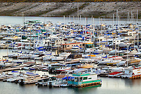 Lake Mead Marina in Boulder Harbor, Lake Mead Recreation Area, Nevada