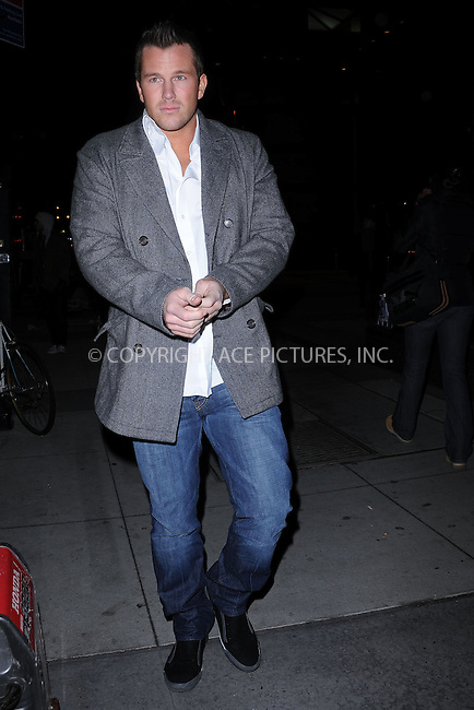 WWW.ACEPIXS.COM . . . . . ....February 4 2010, New York City....Actress Paris Hilton's boyfriend Doug Reinhardt on the Upper East Side of Manhattan on February 4 2010 in New York City....Please byline: KRISTIN CALLAHAN - ACEPIXS.COM.. . . . . . ..Ace Pictures, Inc:  ..tel: (212) 243 8787 or (646) 769 0430..e-mail: info@acepixs.com..web: http://www.acepixs.com