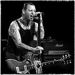 Mike Ness performs at the Marquee Theatre in Tempe, Arizona. May 18, 2003