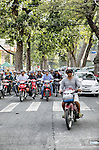 Vietnam,  officially the Socialist Republic of Vietnam (Cộng h&ograve;a X&atilde; hội chủ nghĩa Việt Nam).<br /> Ho Chi Minh City (Th&agrave;nh phố Hồ Ch&iacute; Minh),  formerly named Saigon (S&agrave;i G&ograve;n), is the largest city in Vietnam. Under the name Saigon, it was the capital of the French colony of Cochinchina and later of the independent republic of South Vietnam from 1955&ndash;75.