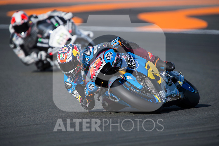 VALENCIA, SPAIN - NOVEMBER 11: Jack Miller during Valencia MotoGP 2016 at Ricardo Tormo Circuit on November 11, 2016 in Valencia, Spain