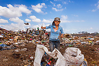 Angela, Trash-Picker, Granada, Nicaragua, 2012<br />