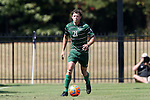 20 September 2015: Stetson's Arturo Roosen. The Campbell University Camels hosted the Stetson University Hatters at Eakes Athletics Complex in Buies Creek, NC in a 2015 NCAA Division I Men's Soccer game. Campbell won the game 1-0.