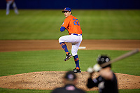 Syracuse Mets pitcher Stephen Nogosek (22) during an International League game against the Charlotte Knights on June 11, 2019 at NBT Bank Stadium in Syracuse, New York.  Syracuse defeated Charlotte 15-8.  (Mike Janes/Four Seam Images)