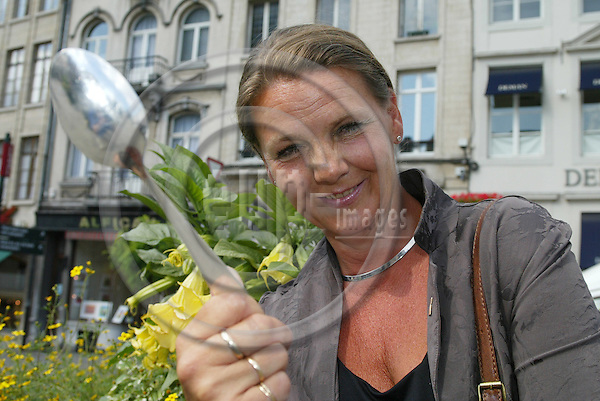 BRUSSELS - BELGIUM - 11 JULY 2005 -- The former Norwegian Minister of Social Affairs, Ingrid SCHOU. PHOTO: ERIK LUNTANG / EUP-IMAGES..