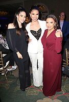 LOS ANGELES, CA - NOVEMBER 8: Edy Ganem, Roselyn Sanchez, Eva Longoria, at the Eva Longoria Foundation Dinner Gala honoring Zoe Saldana and Gina Rodriguez at The Four Seasons Beverly Hills in Los Angeles, California on November 8, 2018. Credit: Faye Sadou/MediaPunch
