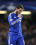 Chelsea's Eden Hazard looks on after a missed chance<br /> <br /> UEFA Champions League - Chelsea v FC Porto - Stamford Bridge - England - 9th December 2015 - Picture David Klein/Sportimage
