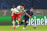 Patrik Schick of RB Leipzig and Harry Winks of Tottenham Hotspur during RB Leipzig vs Tottenham Hotspur, UEFA Champions League Football at the Red Bull Arena on 10th March 2020