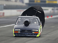 Feb 10, 2017; Pomona, CA, USA; NHRA top sportsman driver Jeff Connelly during qualifying for the Winternationals at Auto Club Raceway at Pomona. Mandatory Credit: Mark J. Rebilas-USA TODAY Sports