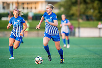 Boston, MA - Sunday September 10, 2017: Natasha Dowie during a regular season National Women's Soccer League (NWSL) match between the Boston Breakers and Portland Thorns FC at Jordan Field.
