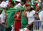 10 June 2007: Mexico fans. The Honduras Men's National Team defeated the National Team of Mexico 2-1 at Giants Stadium in East Rutherford, New Jersey in a first round game in the 2007 CONCACAF Gold Cup.