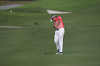 Suradit Yongcharoenchai (THA) in action on the 1st during Round 1 of the Maybank Championship at the Saujana Golf and Country Club in Kuala Lumpur on Thursday 1st February 2018.<br /> Picture:  Thos Caffrey / www.golffile.ie<br /> <br /> All photo usage must carry mandatory copyright credit (&copy; Golffile | Thos Caffrey)